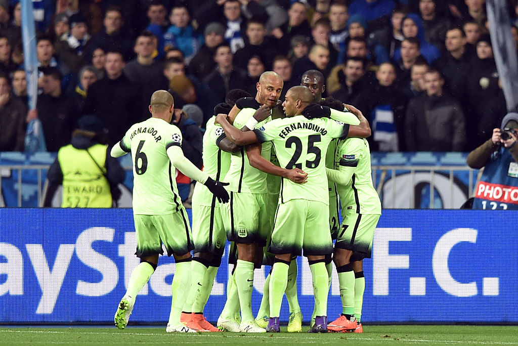 Manchester City beat Dynamo Kyiv to become first English side to win in Europe this year