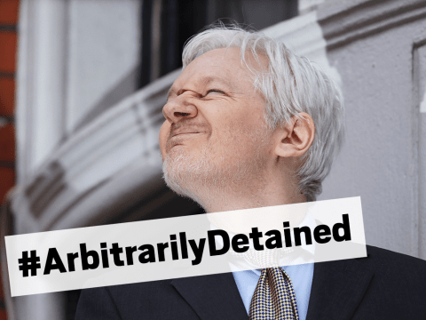 #ArbitrarilyDetained: Twitter takes the mick out of UN's Assange ruling