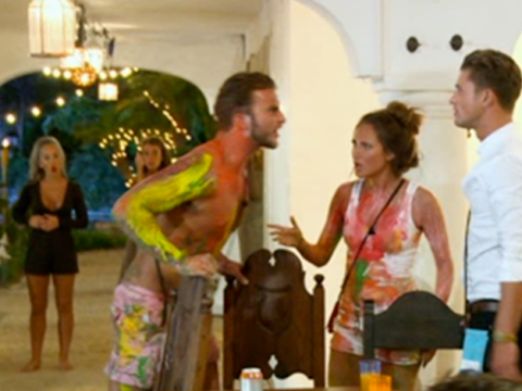 Security called in after massive Ex On The Beach bust-up between Lewis and Jordan