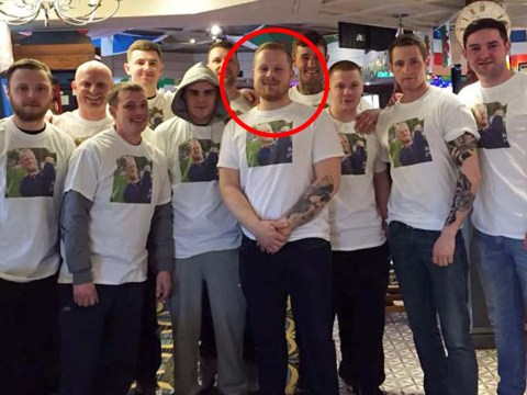 Pictured: Stag do that forced Ryanair flight to divert to Berlin