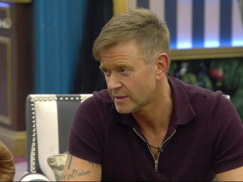 Darren Day tells the  Celebrity Big Brother housemates about being blackmailed by phone hackers over 'graphic' cheating phone call