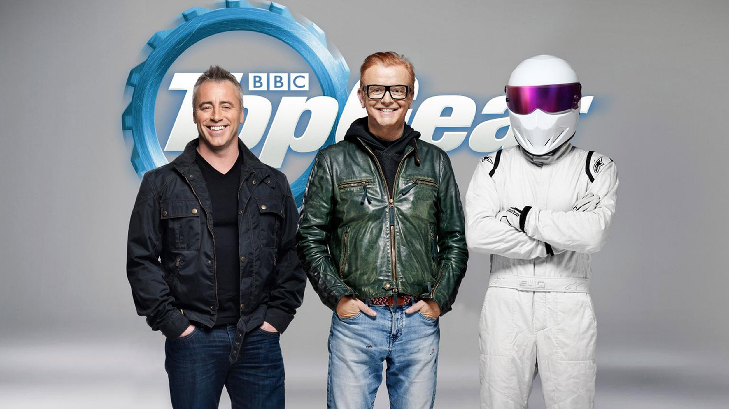 """Former Friends star Matt LeBlanc is be one of the new presenters of Top Gear when the motoring programme returns to BBC Two in May. The US actor will be the show's first non-British host in its 39-year history. """"Matt's a lifelong fellow petrolhead and I'm thrilled he's joining Top Gear,"""" said Chris Evans of his new co-host. Picture: BBC/ Universal News And Sport (Europe) 04/02/2016."""