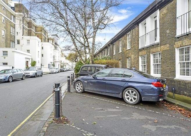 London parking space for £350,000 Link: http://search.knightfrank.co.uk/hpe150273 Credit: Knight Frank