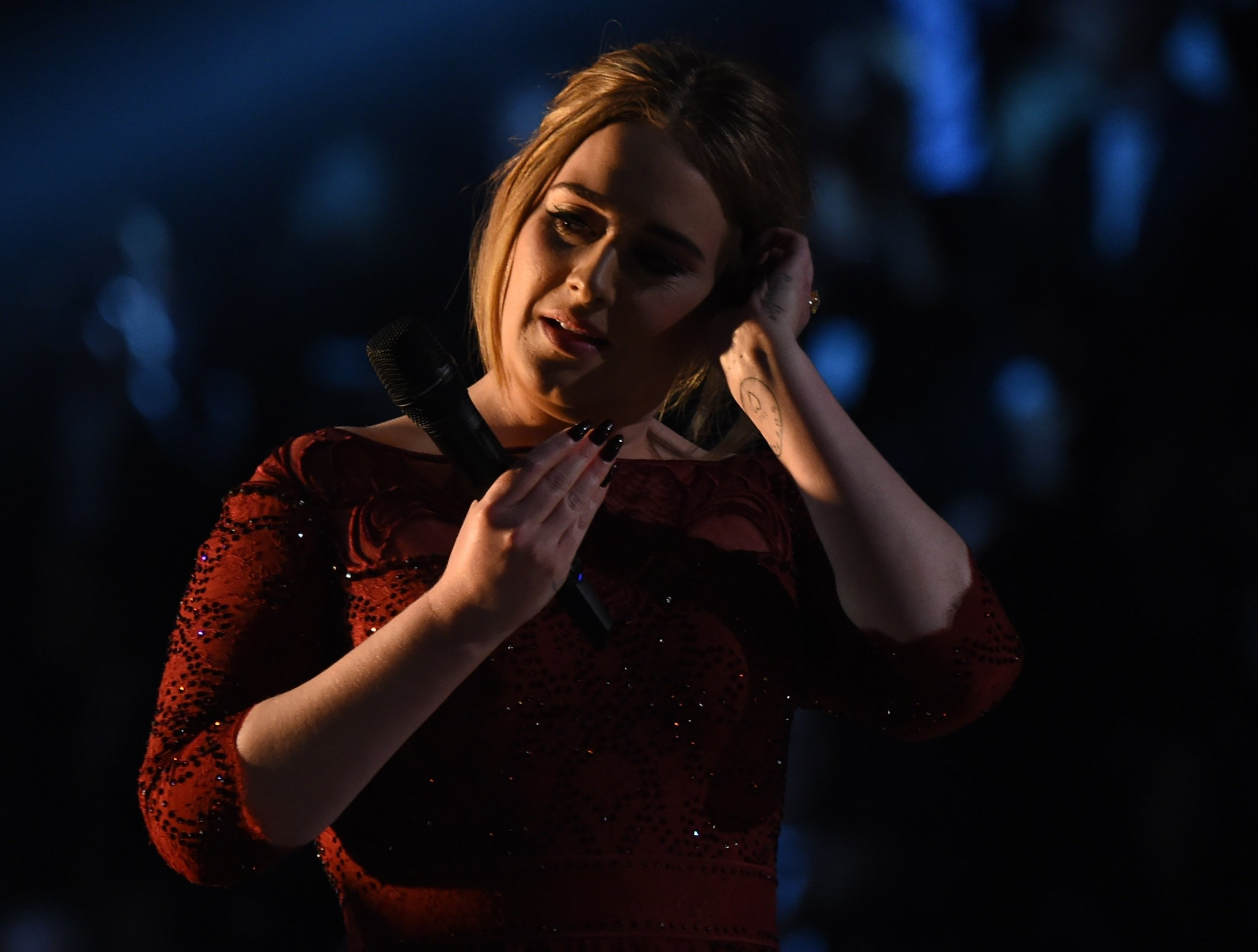 The Grammys: Adele explains what went wrong during her performance of All I Ask