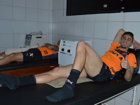 Arsenal's Gabriel Paulista returns to former club Vitoria for treatment to thigh injury