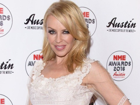 Newly-engaged Kylie Minogue celebrates 10 years of being cancer-free