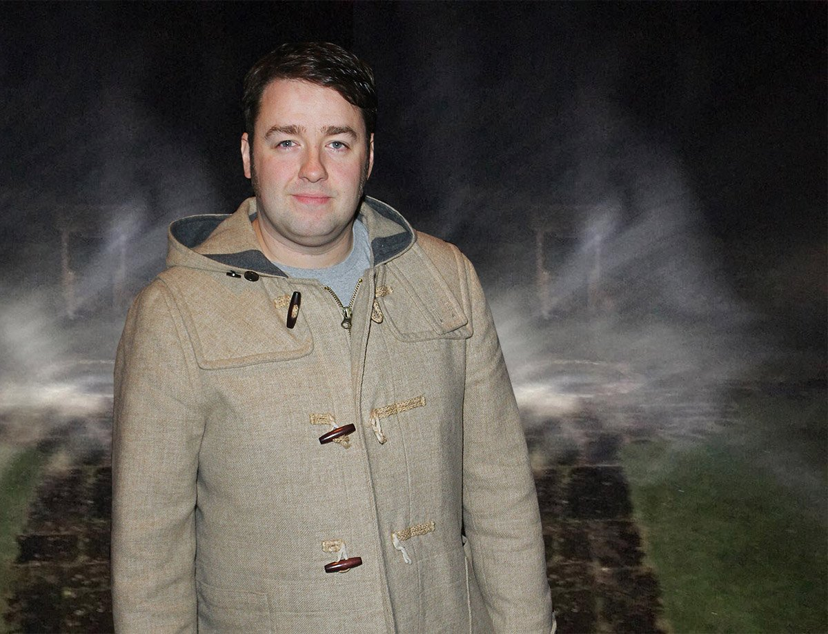 Jason Manford reckons he's captured a ghost on camera in his Airbnb apartment