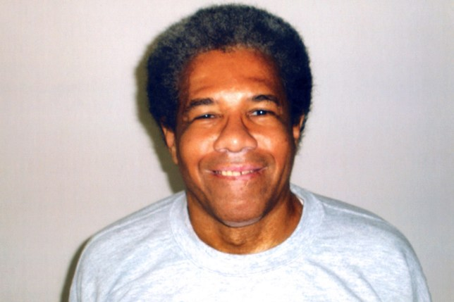 "(FILES) This file photo taken on June 10, 2015 shows an undated picture released on June 10, 2015 by Amnesty International in Paris, shows Albert Woodfox, 68, a former Black Panther activist who spent a record 43 years in solitary confinement. Albert Woodfox was freed from a US prison on February 19, 2016 after decades of legal battles to prove his innocence. Albert Woodfox is the last of the ""Angola Three"" activists to taste freedom in a case which provoked outrage among rights groups. / AFP / Amnesty International / HOHO/AFP/Getty Images"