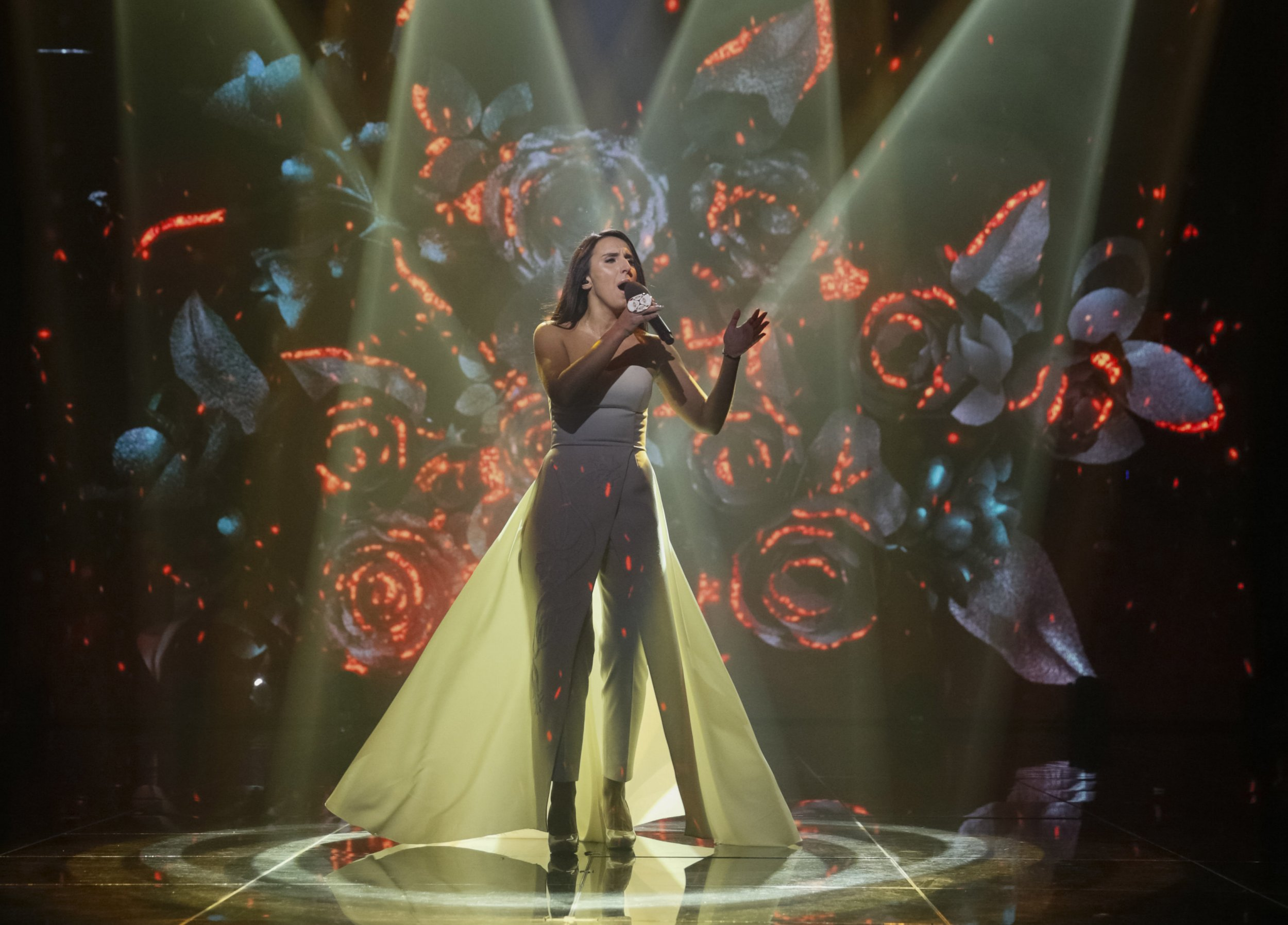 Ukrainian singer Jamala was crowned the 2016 winner of the Eurovision Song Contest (Picture: TATARS/EUROVISION. REUTERS)
