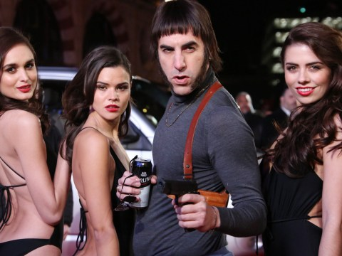 This local paper made it very clear what they thought of Sacha Baron Cohen's Grimsby