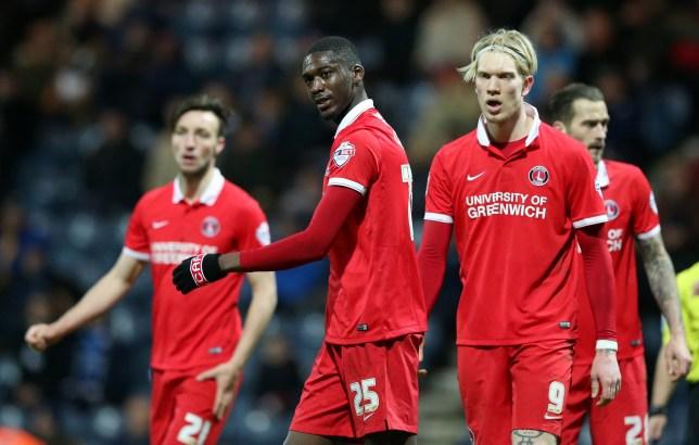 Charlton Athletic's Yaya Sanogo