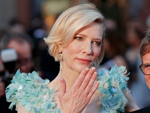 Cate Blanchett has dyed her hair pink – and she's totally rocking her new look