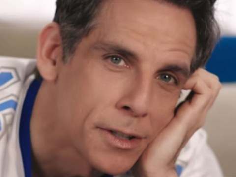 Ben Stiller shows off 'female Viagra' advert which failed to make the Super Bowl