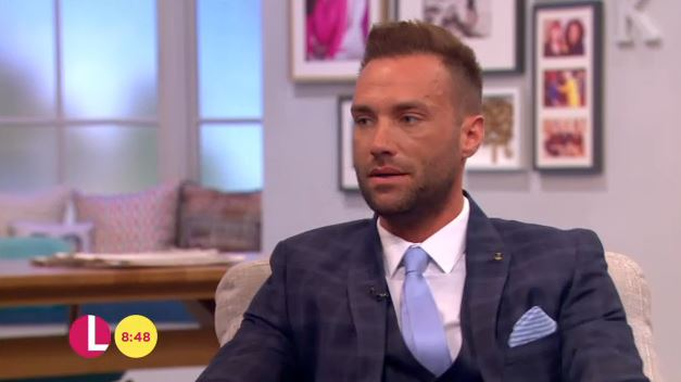 Calum Best opened up to Fiona Philips(Picture: ITV)