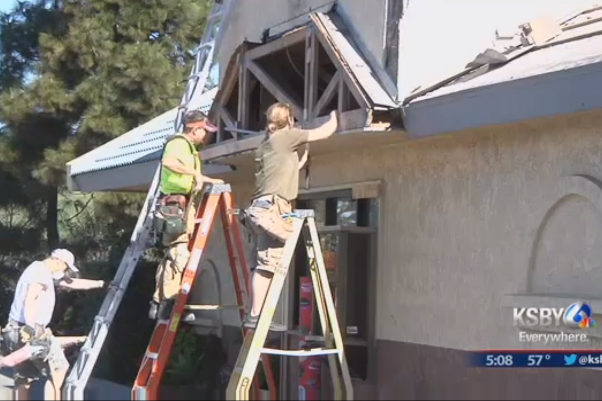 Morro Bay Burger King sustains $35,000 in damages