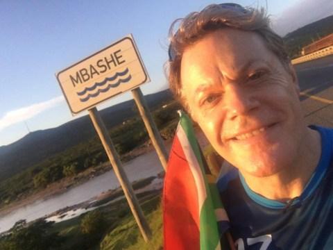 Brave Eddie Izzard has just started running 27 marathons in 27 days for Sport Relief 2016