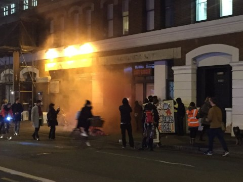 Mob descends on Shoreditch House in protest over closure of Calais 'Jungle'
