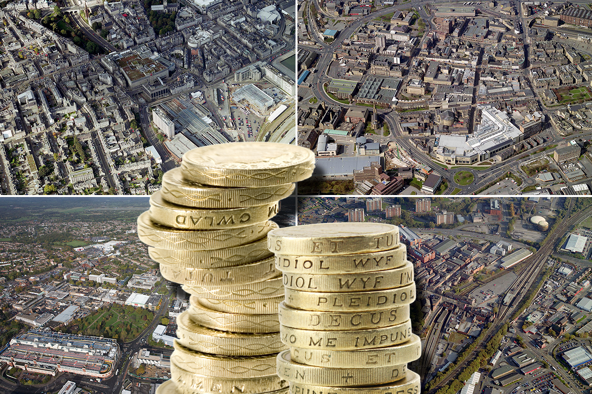 Where in Britain can you earn the most money?