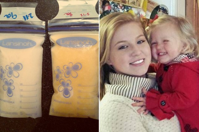 Mallory Smothers breast milk story