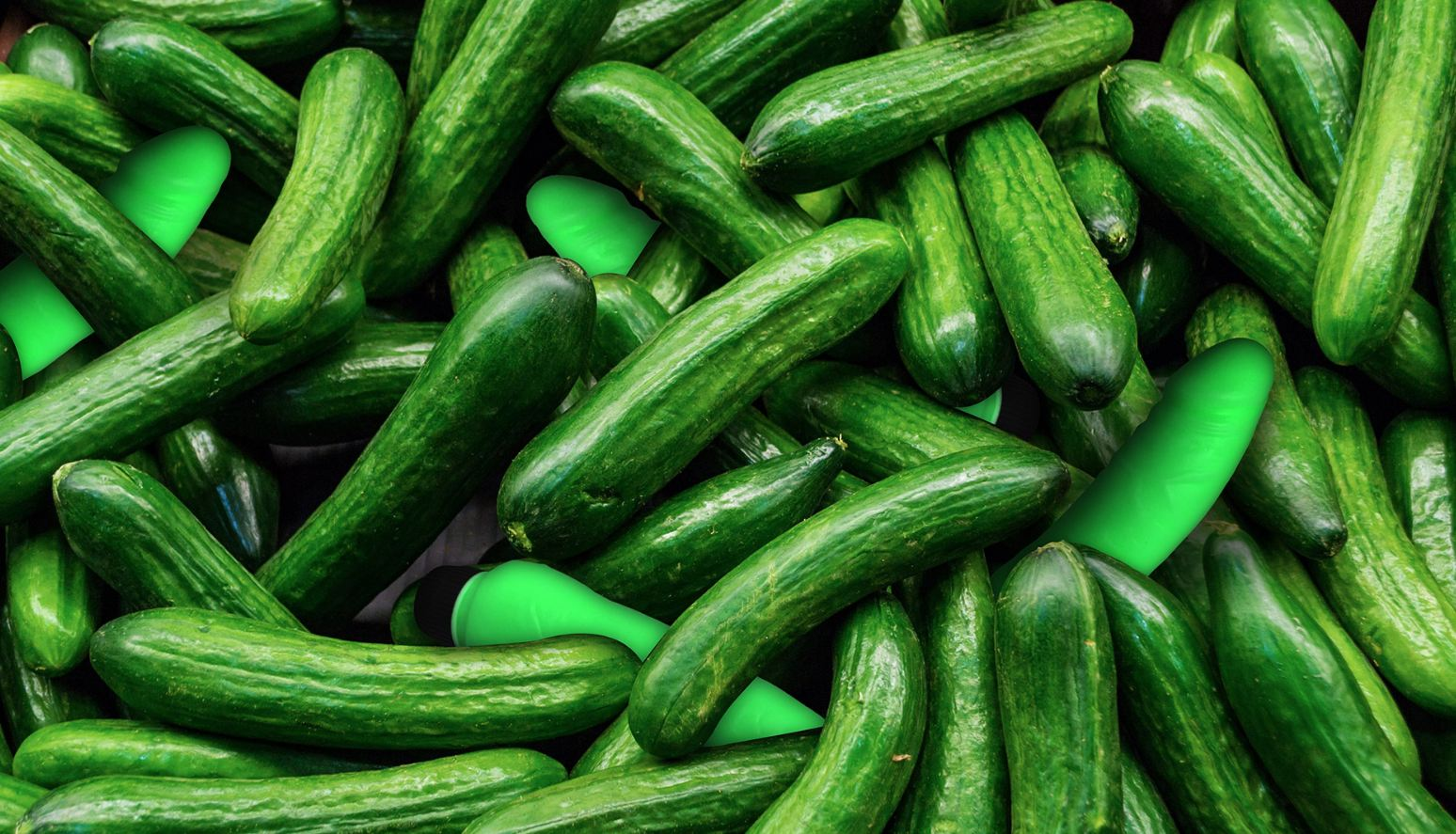 Presenting the perfect surprise Valentine's Day gift: Cucumber or Dildo