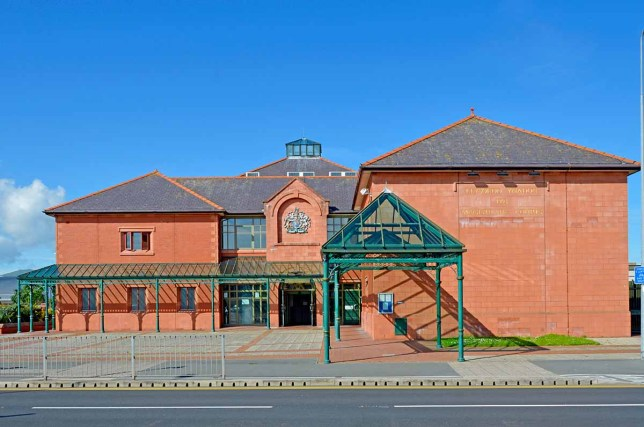 Llandudno magistrates court in North Wales