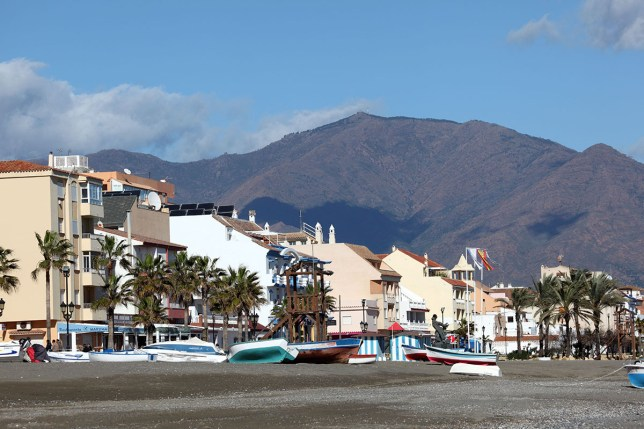 D31PJF Andalusian town San Luis de Sabinillas, Costa del Sol, Spain Alamy