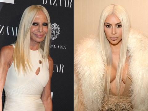 Kim Kardashian and Donatella Versace: Separated at birth?