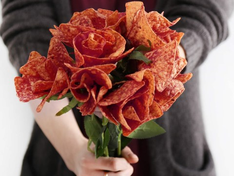 Declare your love this Valentine's Day with a bouquet of Doritos roses