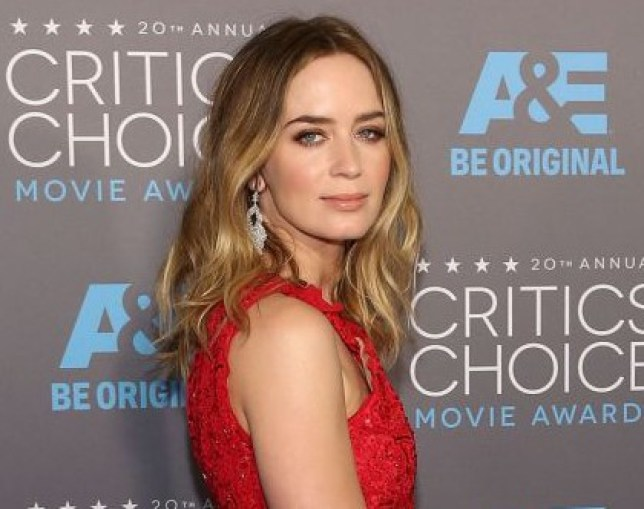 Actress Emily Blunt attends The 20th Annual Critics' Choice Movie Awards at Hollywood Palladium in Los Angeles, California, America. (Photo by Taylor Hill/Getty Images)