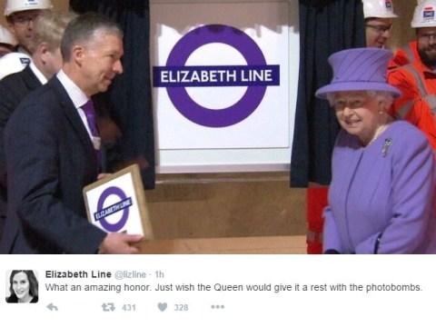 Elizabeth Line calls unveiling of the Elizabeth Line an 'amazing honour'