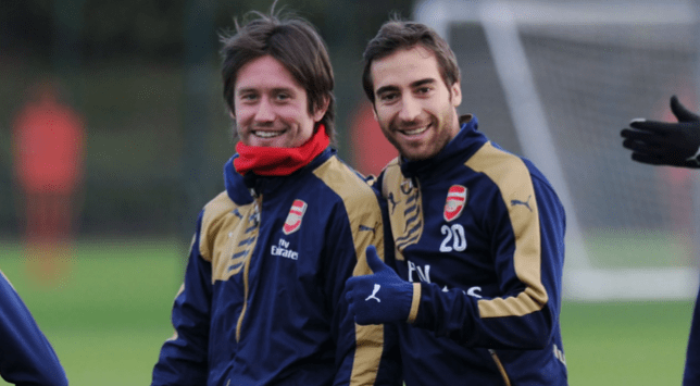 Should Arsenal let them leave? (Picture: Getty Images)