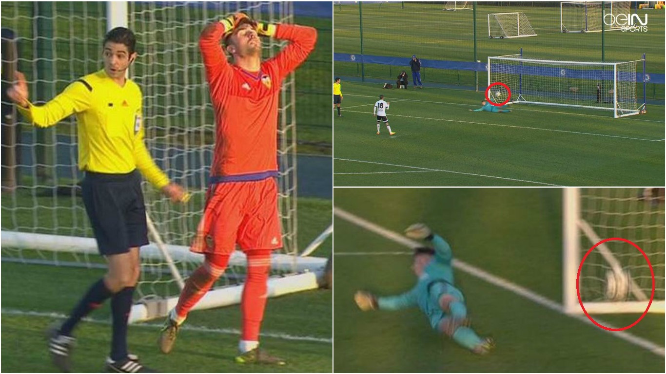 Chelsea beat Valencia in UEFA Youth League after referee wrongly says penalty didn't go in