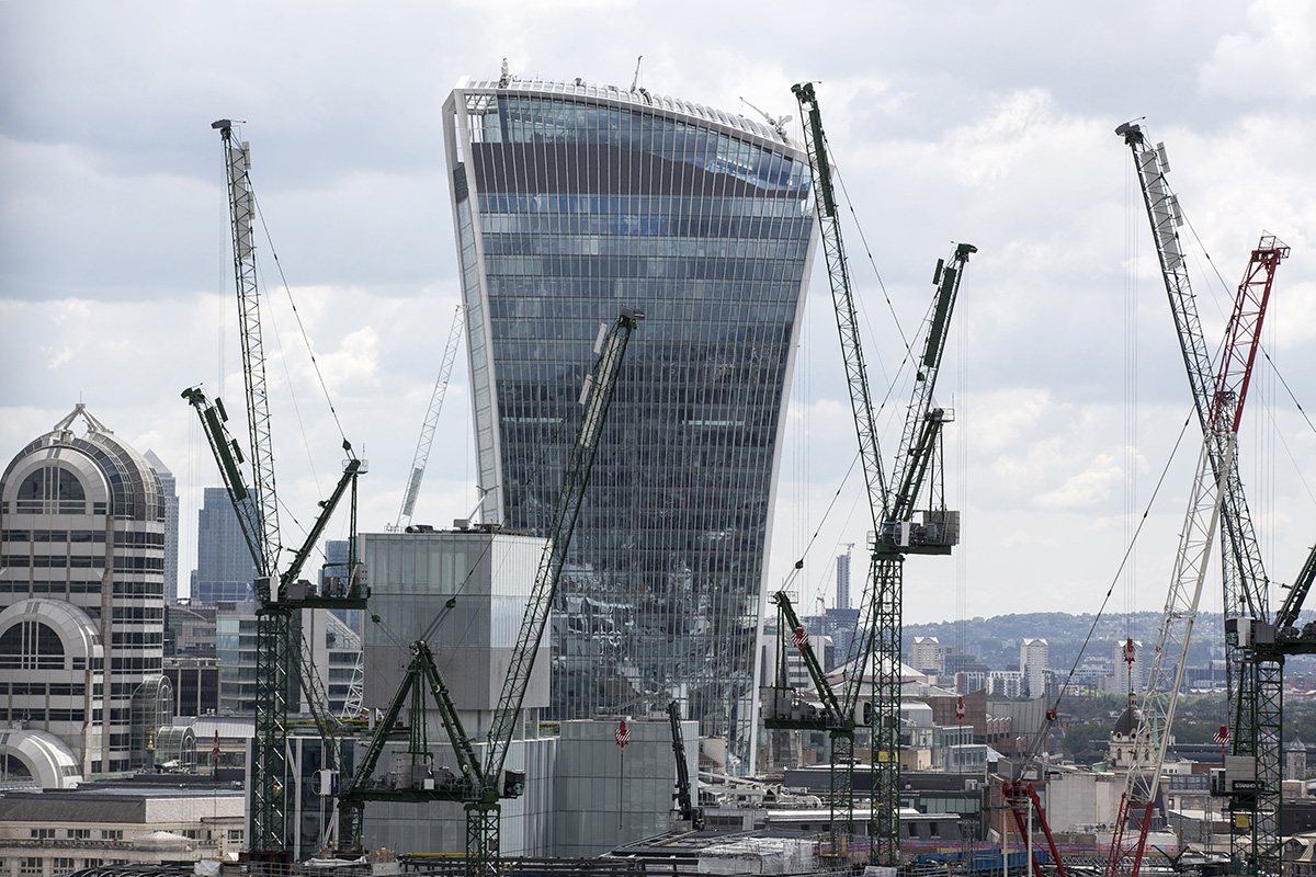 So much construction (Picture: Bloomberg via Getty Images)