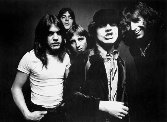 AC/DC knew how to write a song to get it on to (Picture: Michael Ochs Archives/Getty)