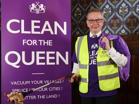 The #CleanForTheQueen campaign is not to everyone's taste