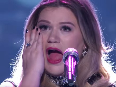 Everyone burst into tears during Kelly Clarkson's poignant performance upon her final return to American Idol