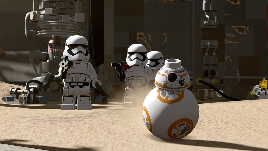 Lego The Force Awakens - BB-8 looking as adorable as ever