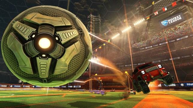 Rocket League (XO) - tyreball action
