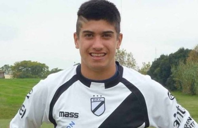 People are calling Joaquin Ardaiz 'the next Luis Suarez' (Picture: Twitter)