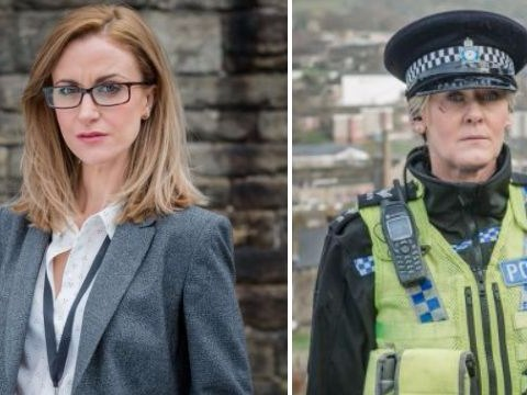 Katherine Kelly says her Happy Valley co-star Sarah Lancashire is in a different league to her