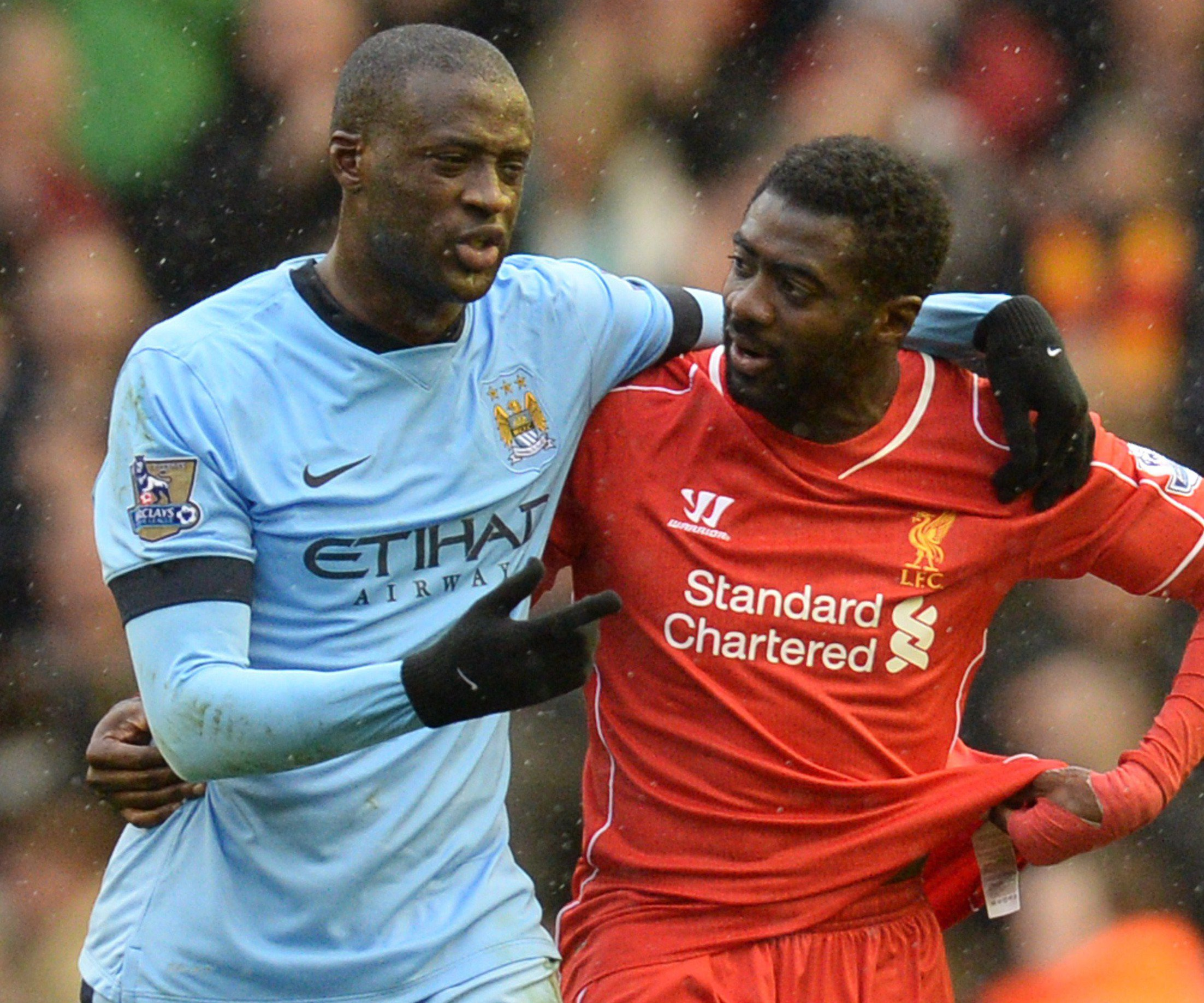 Kolo Toure: 'I'd take out Yaya if he was clean through on goal'