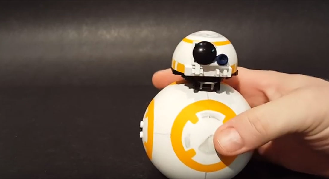 These genius Star Wars fans built a working BB8 out of Lego…