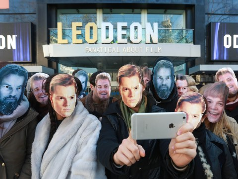 Leicester Square's ODEON has invested a lot in Leonardo DiCaprio winning an Oscar