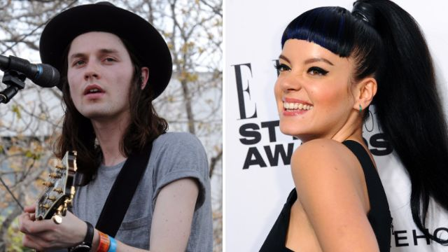 59eb3e3e1c6 The Brits 2016  James Bay fires back at Lily Allen s awards criticism