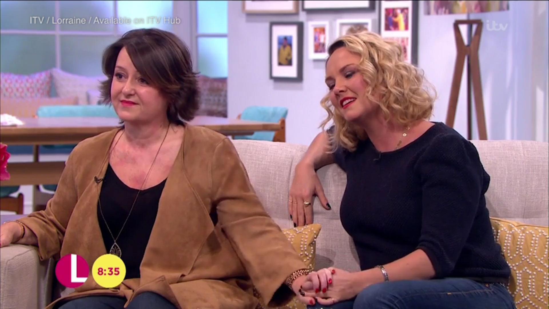 Eastenders' Charlie Brooks breaks down in tears discussing friend's battle with cancer