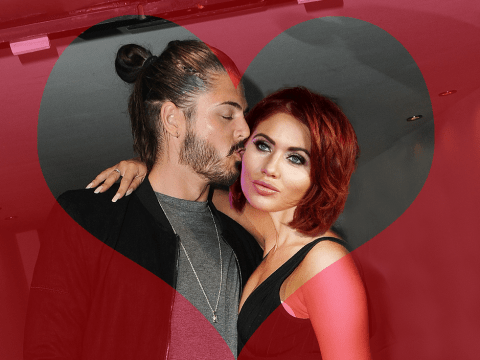 Stephanie Davis' ex Sam Reece and Amy Childs insist they are 'just friends' after being spotted 'passionately snogging'