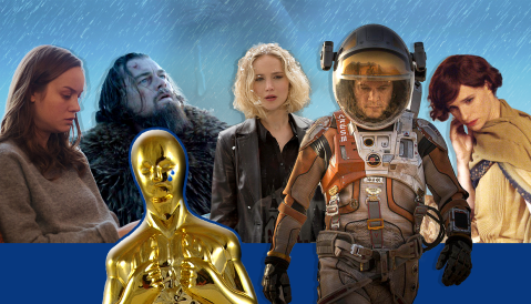 WATCH: Here are all of the 2016 Oscar nominees being totally emotional
