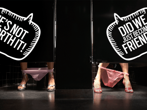 10 conversations you've definitely had in the girls toilets on a night out