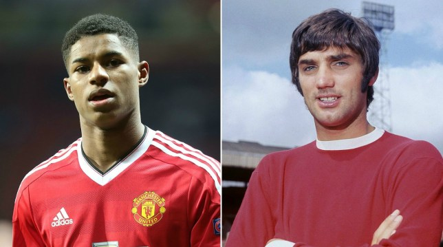 Can Rashford become a United legend like Best? (PIcture: Getty Images)