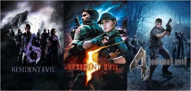One of the best games ever made, plus Resident Evil 5 and 6